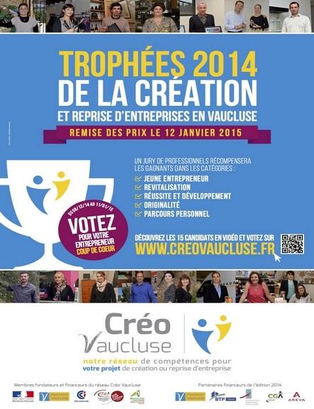 Trophée CREO Usitab 2014